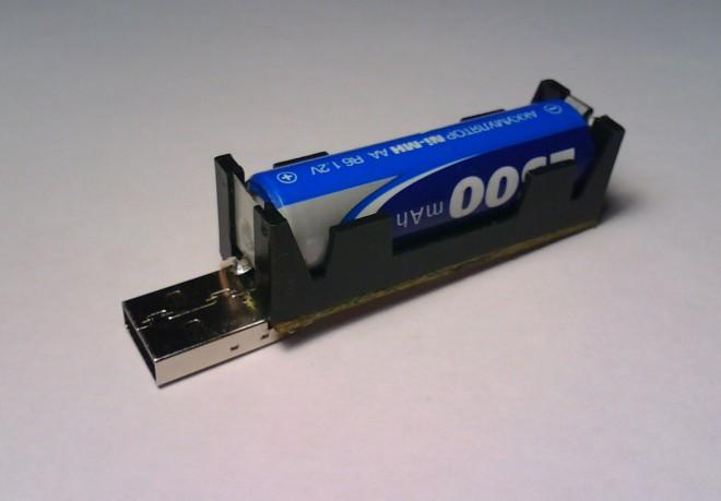 USB-зарядник для Ni-Mh, Ni-Cd аккумулятора