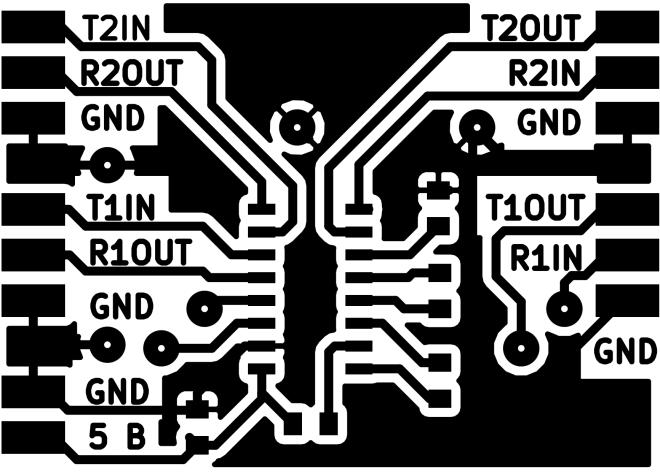Преобразователь UART - RS-232-F.Cu.png