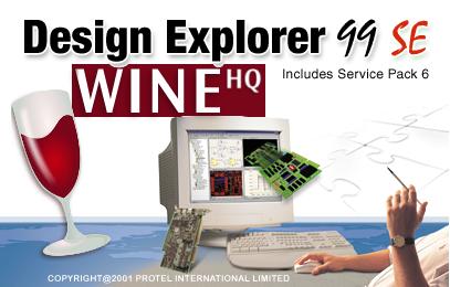 Wine Protel 99SE SP6