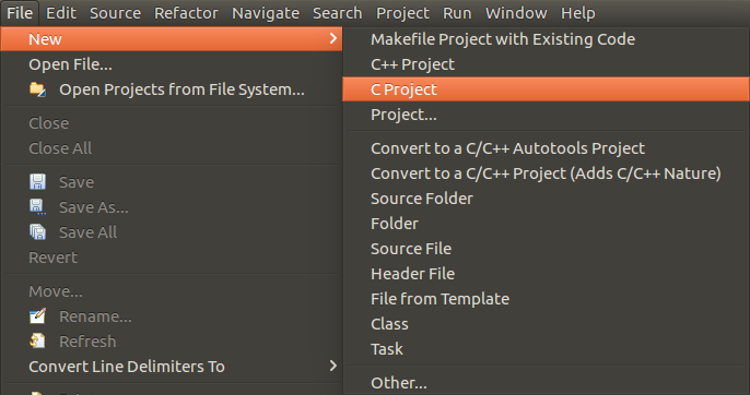 eclipse-file-new-c-project