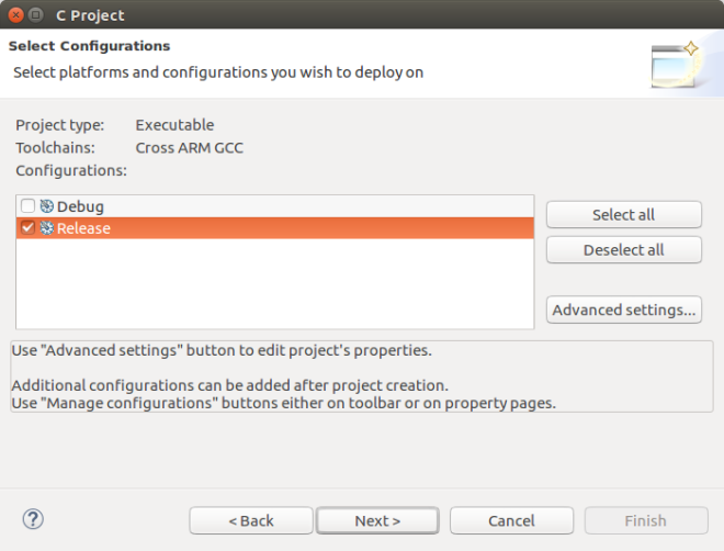 eclipse-select-configurations