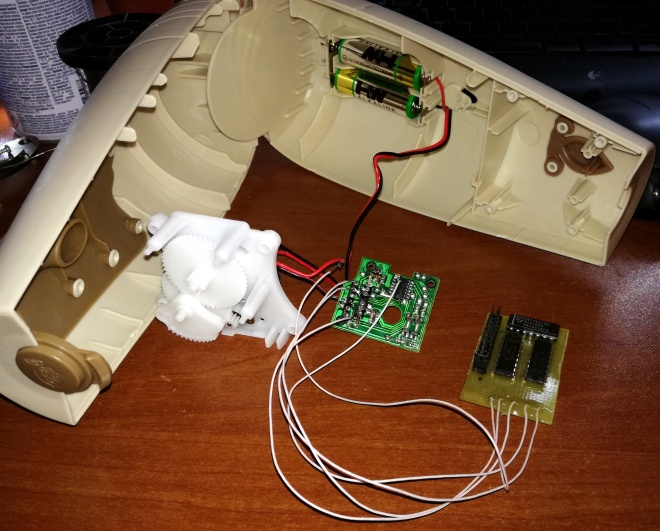 Доработка автоматического освежителя воздуха Glade SCJ-180